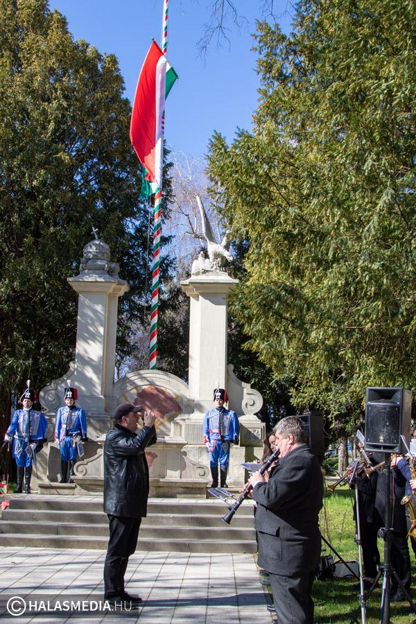Március 15-i nemzeti ünnep, évnyitó ünnepség 2020